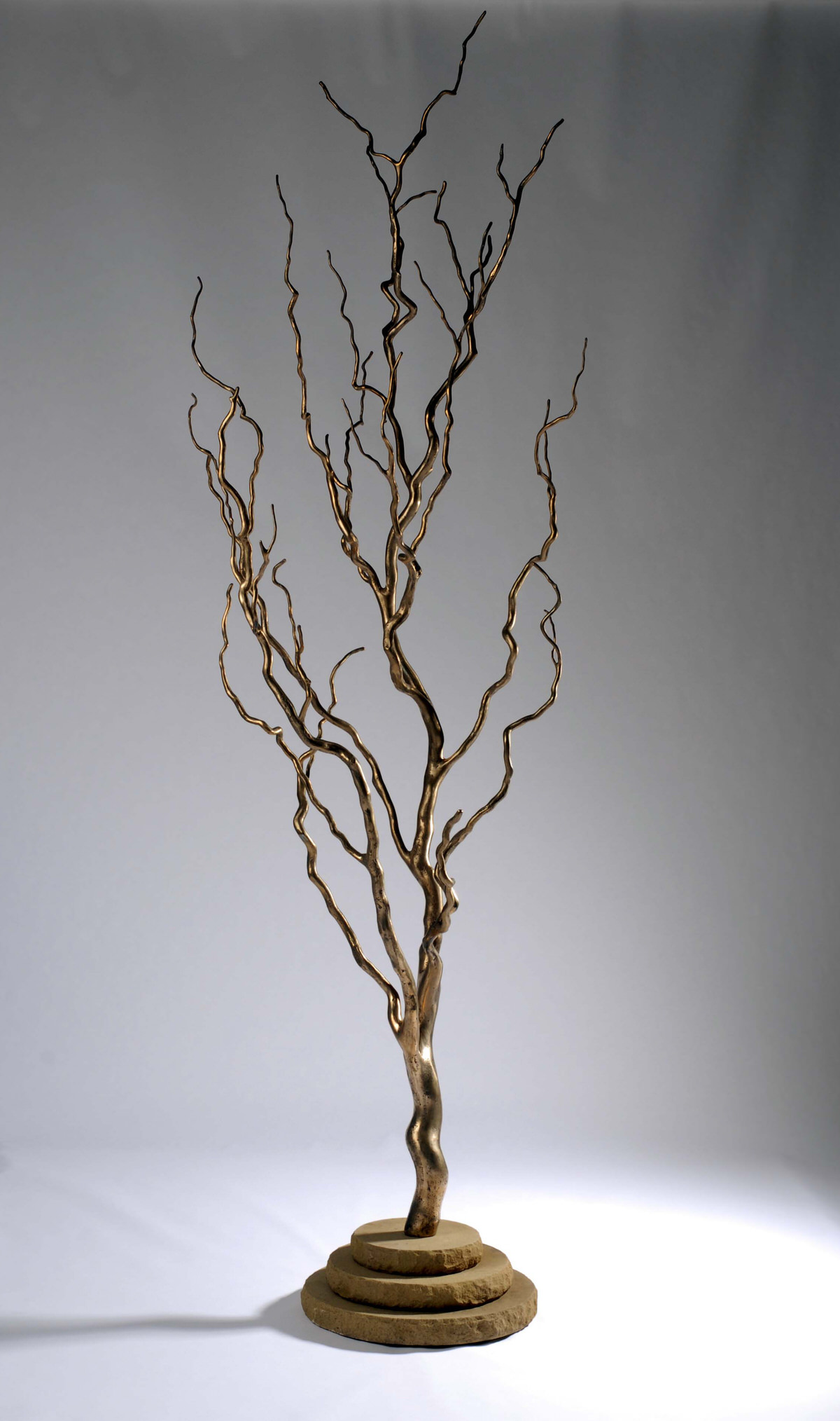 Willow Tree sculpture bronze sculpture for gardens sculpture for public spaces corporate sculpture tree design trees art indoor trees design offices by Mark Reed