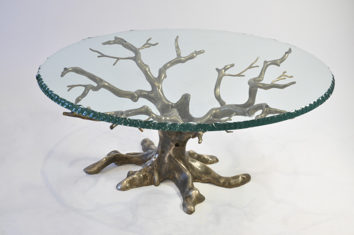 Penshurst Coffee Table Mark Reed Sculpture : Penshurst Coffee Table bronze and glass bespoke stunning table for interior designers by Mark Reed from markreedsculpture.com size 1200 x 797 jpeg 173kB