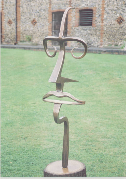4 MAN Sculpture abstract bronze sculpture contemporary British sculpture cubist sculpture sculpture beiruit sculpture dubai gallery sculpture specifier sculpture by Mark Reed