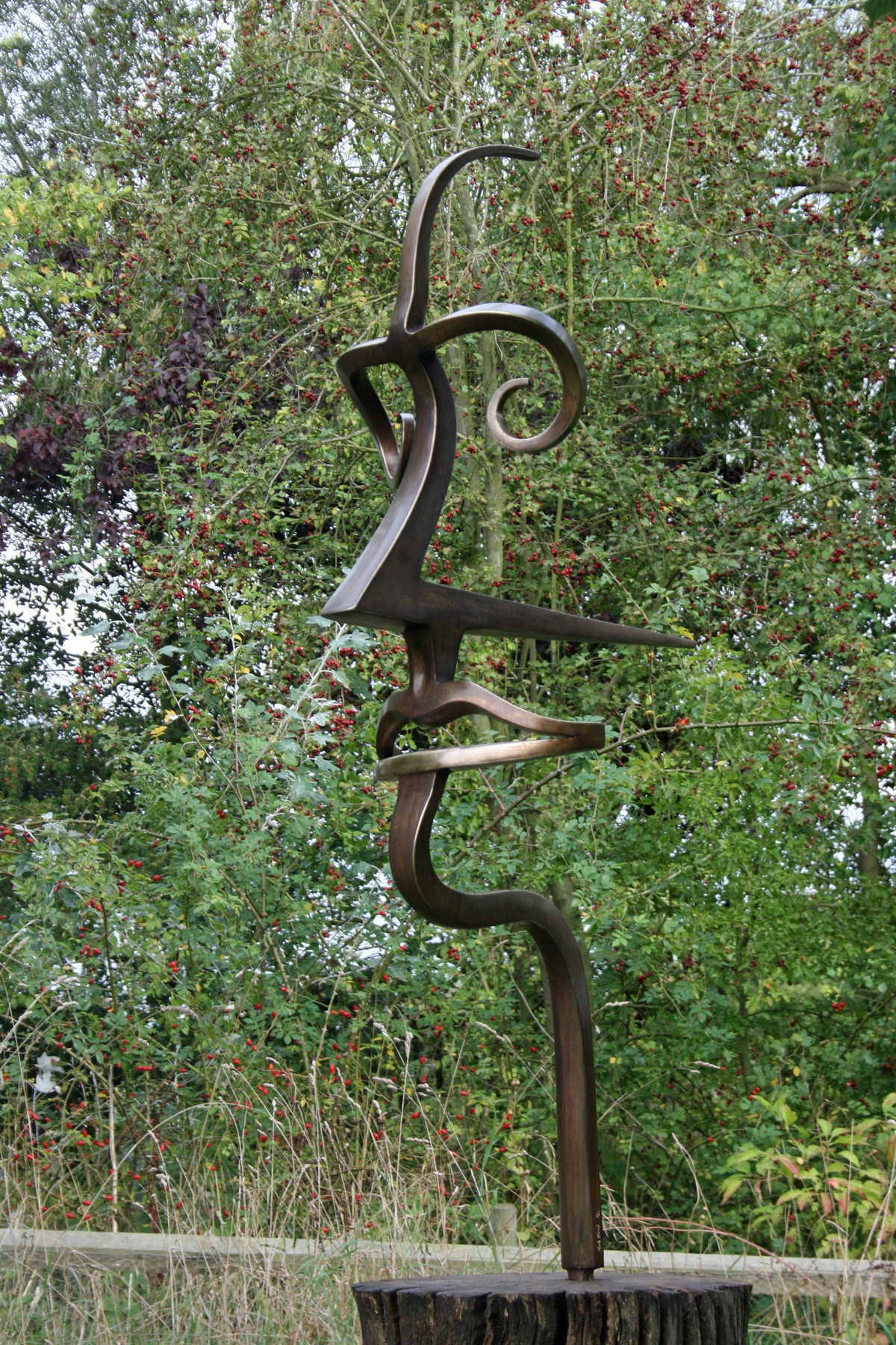 4MAN Sculpture bronze contemporary British sculpture figurative sculpture industrial inspired public sculpture  East Coast Sculpture by Mark Reed