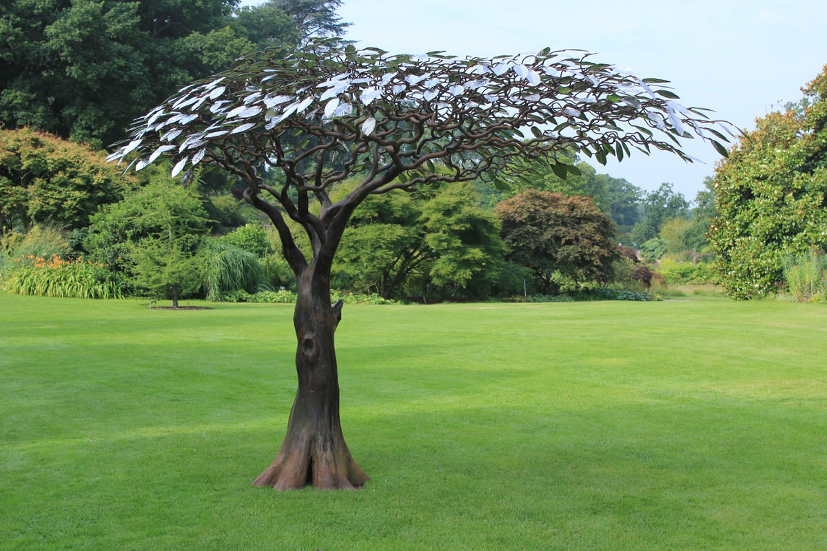 Arbour metallum Tree Sculpture at RHS Wisley Garden Sculpture Tree Design Trees Art by Mark Reed